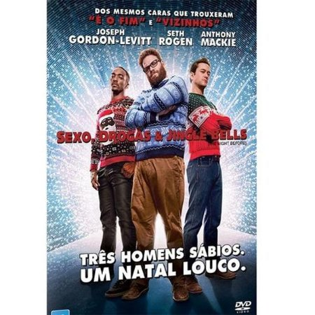 Dvd - Sexo, Drogas E Jingle Bells - Seth Rogen