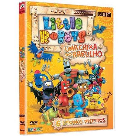 Dvd Little Robots - Uma Caixa Do Barulho