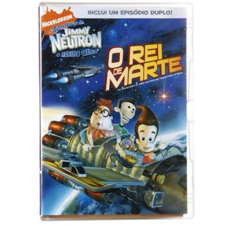 Dvd Jimmy Neutron O Rei De Marte