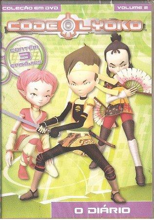 Dvd Code Lyoko - Volume 2 - O Diário