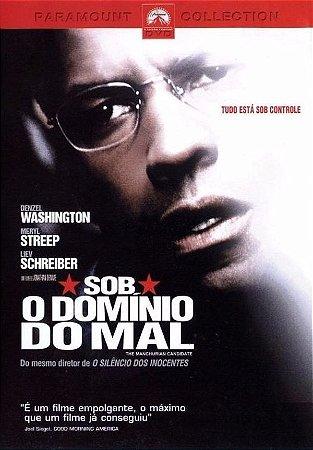 Dvd Sob O Domínio Do Mal - Denzel Washington