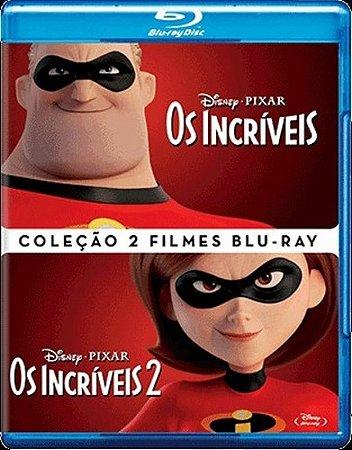 Blu-Ray - Coleção Os Incríveis - 2 Filmes