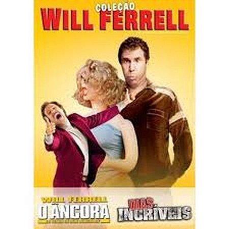 Dvd Will Ferrel - O Ancora / Dias Incriveis