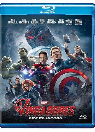 Blu-Ray - Os Vingadores - Era de Ultron