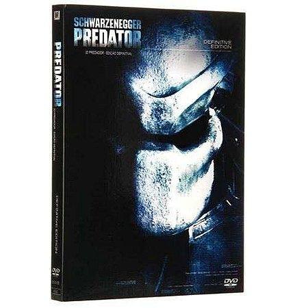 Dvd Duplo O Predador - Edição Definitiva - Schwarzenegger
