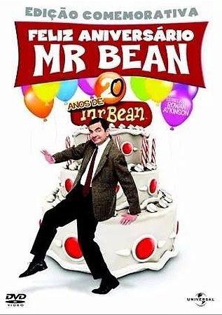 Dvd Box Mr. Bean Edição Aniversario - 5 Discos