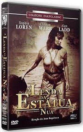 Dvd A Lenda da Estátua Nua - Sophia Loren
