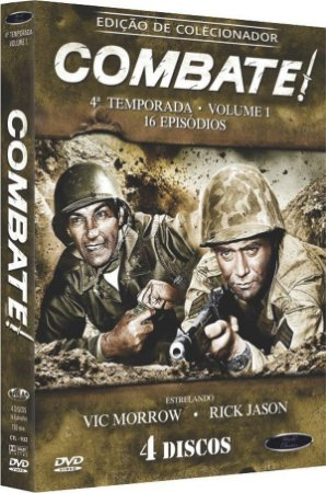 Box Dvd: Combate 4 Temporada Volume 1