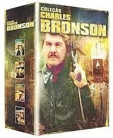 Box Dvd Coleção Charles Bronson 4 Filmes