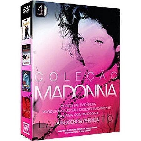 Box Dvd Coleção Madonna - 4 Filmes