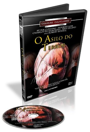 Dvd O Asilo Do Terror - Peter Cushing