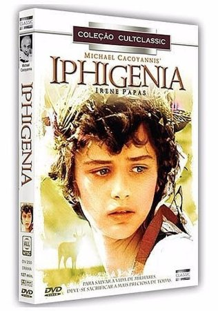 Dvd Iphigenia - Irene Papas