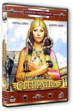 Dvd Duas Noites Com Cleópatra - Sophia Loren
