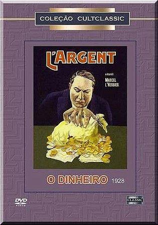 Dvd O Dinheiro - Marcel L'herbier