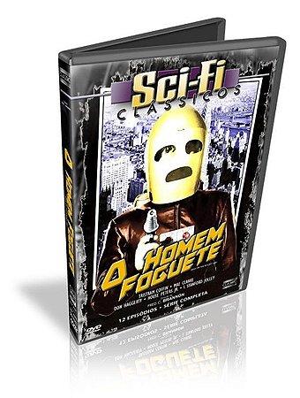 Dvd Sci-fi - O Homem Foguete 12 Episódios  - Fred C. Brannon