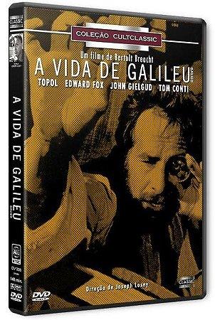 Dvd A Vida De Galileu - Topol - Edward Fox