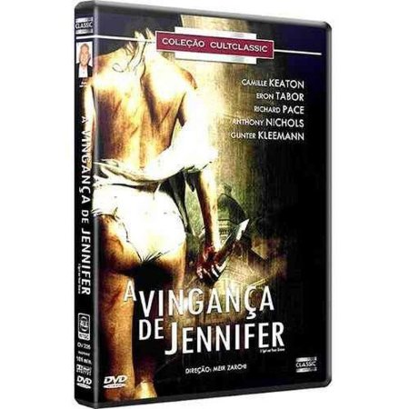 Dvd A Vingança De Jennifer - Camille Keaton