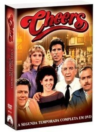 Box Cheers - segunda Temporada Completa - 4 Discos