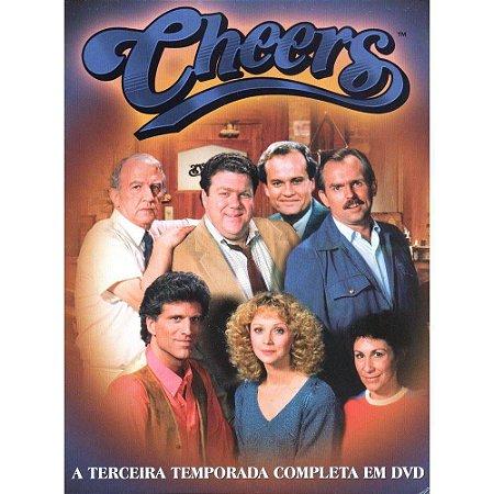 Box Cheers - terceira Temporada Completa - 4 Discos