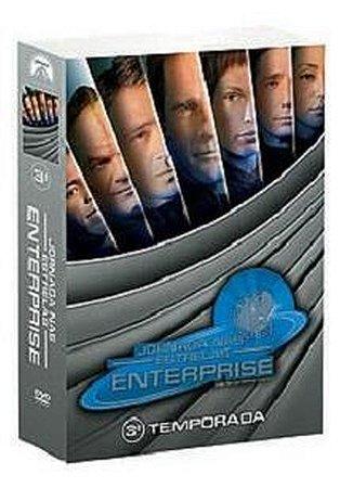 Box Jornada Nas Estrelas Enterprise 3 Temporada - 7 discos