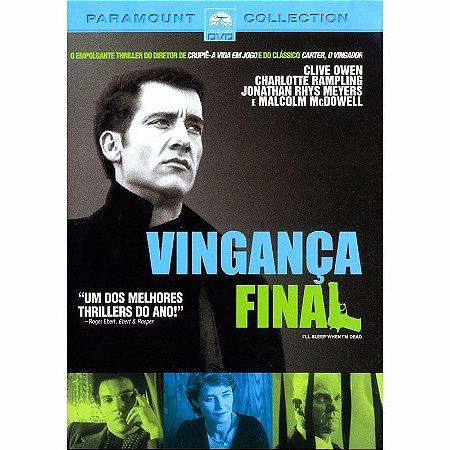 Dvd Vinganca Final - Clive Owen