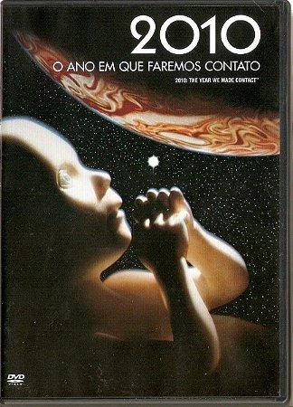 Dvd 2010 - O Ano Em Que Faremos Contato - Joh Lithgow