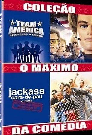 Dvd Duplo Jackass O Filme / Team America