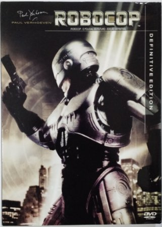 Dvd Duplo - Robocop O Policial Do Futuro Definitive Edition