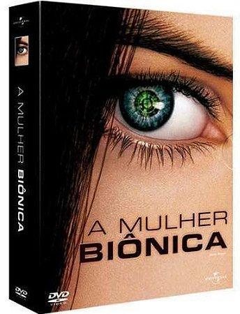 Box Dvd - A Mulher Biônica Vol.1 E 2
