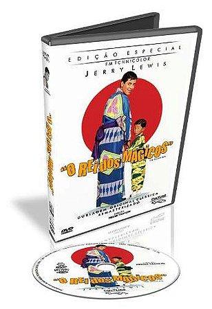 Dvd O Rei Dos Mágicos Jerry Lewis