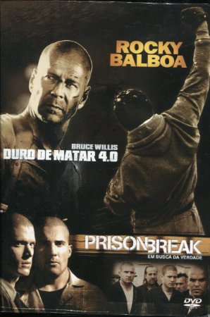 Box Rocky Balboa - Prison Break - Duro De Matar 4.0