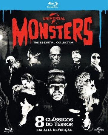 Blu-Ray Coleção Monsters - The Essential Collection - 8 Disc