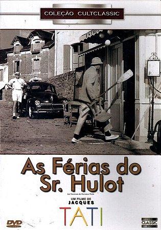 Dvd As Férias Do Sr. Hulot  - Jacques Tati