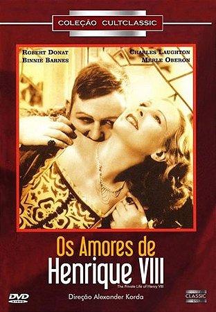 Dvd Os Amores De Henrique VIII - Alexander Korda