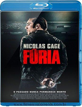 Blu ray - Fúria - Nicolas Cage