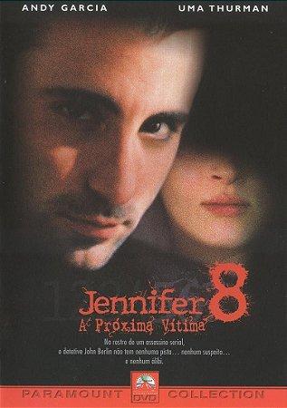 Dvd Jennifer 8: A Próxima Vítima - Andy Garcia