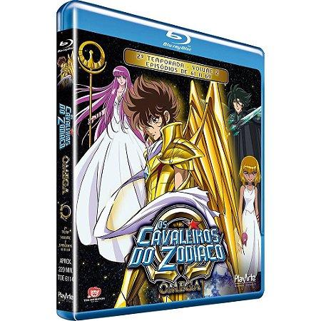 Blu ray Cavaleiros do Zodíaco Ômega - 2 Temp. Vol. 2