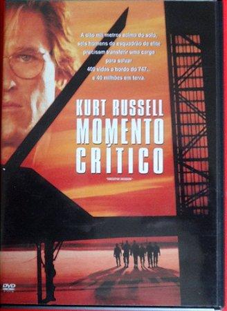 Dvd - Momento Crítico - Kurt Russell