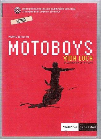 Dvd Motoboys - Vida Loca  - Caito Ortiz