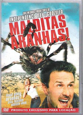 Dvd Malditas Aranhas - David Arquette