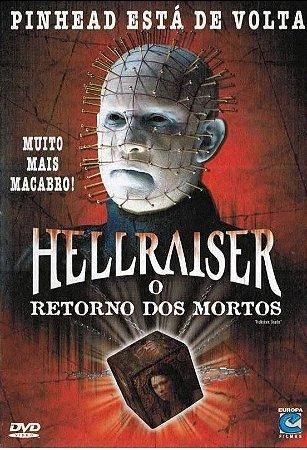 Dvd Hellraiser O Retorno Dos Mortos