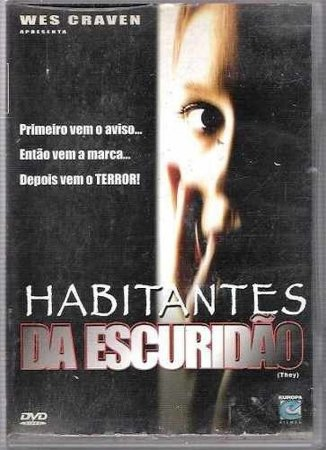 Dvd Habitantes Da Escuridão - Dagmara Dominczyk
