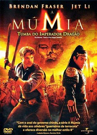 Dvd A Múmia: Tumba Do Imperador Dragão + Quebra Cabeça
