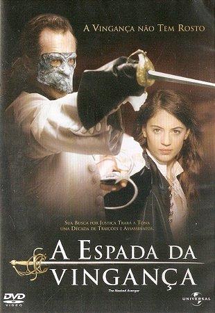 Dvd - A Espada Da Vingança - Bruno Wolkowitch