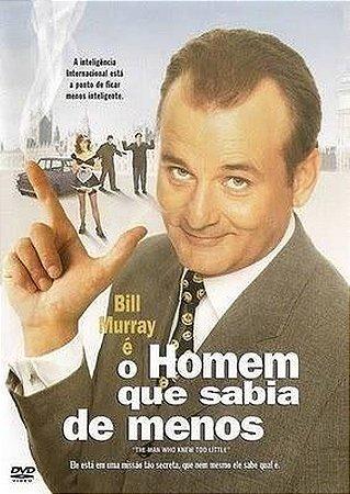 Dvd Homem Que Sabia De Menos - Bill Murray