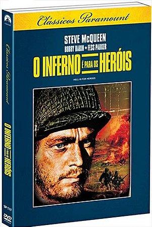 Dvd O Inferno E Para Os Herois