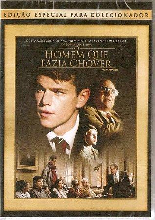 Dvd O Homem Que Fazia Chover - Matt Damon