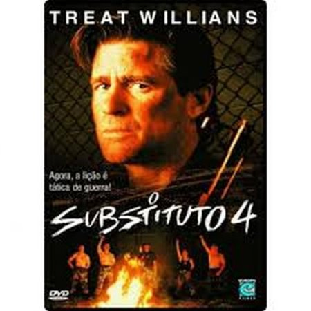 Dvd O Substituto 4 - Treat Willians