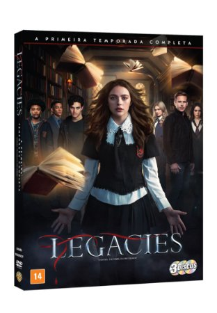 DVD - LEGACIES 1A TEMPORADA