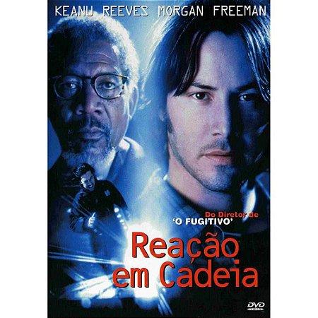 DVD Reação em Cadeia - Keanu Reeves